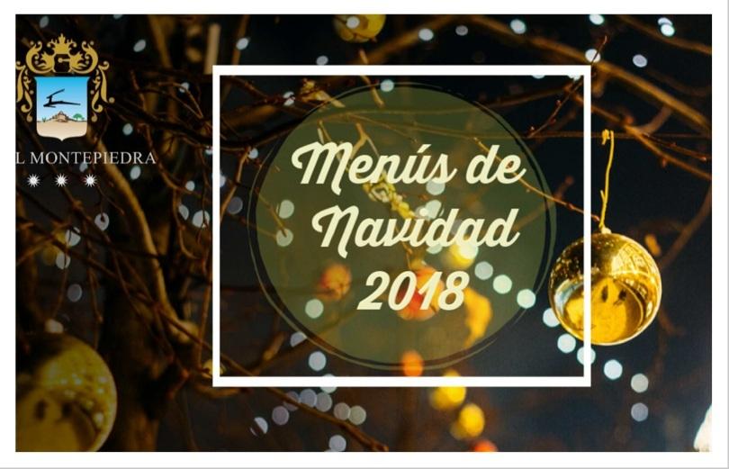 foto portada menus navidad hotel montepiedra
